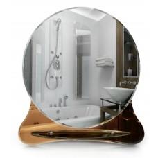 Тонированное зеркало в ванную T 34 (70 см х 64 см)