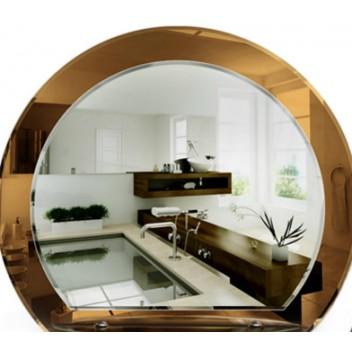 Зеркало в ванную с полкой T 35 (59см х 67см)