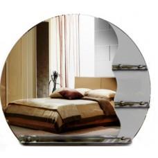 Зеркало настенное с полками MO 04 (70 см х 80 см)