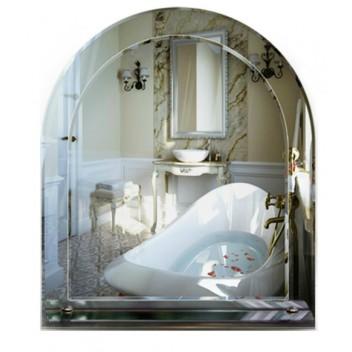 Зеркало с полкой для ванной комнаты 3 01 (70 см x 60 см)