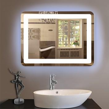 Зеркало с светодиодной подсветкой PK 1  (60см х 80см)
