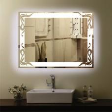 Зеркало с подсветкой  P3 (60см х 80см)