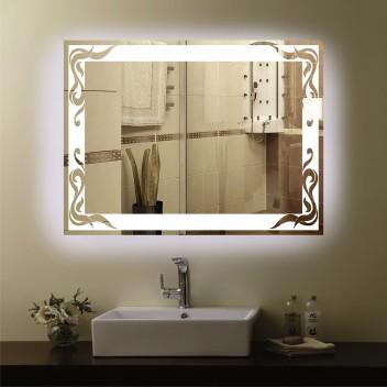 Зеркало с подсветкой  P 3 (60 см х 80 см)