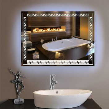 Зеркало с подсветкой P 4 (60 см х 80 см)
