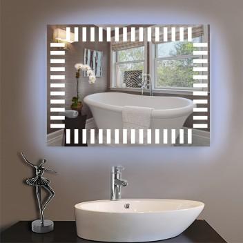 Зеркало с светодиодной подсветкой  P 6 (60 см х 80 см)