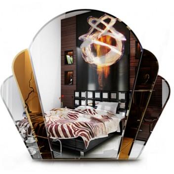 Зеркало тонированное TH 03 (63см х 71см)