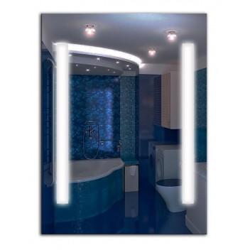 Зеркало с лед лампами ЛДС 002 (100 см х 75 см)