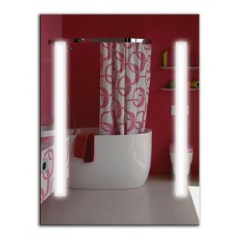 Зеркало с лед лампами ЛДС 003 (80 см х 65 см)