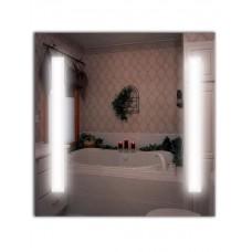 Зеркало с лед лампами ЛДС 005 (70 см х 70 см)