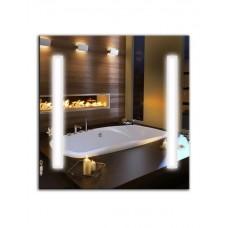 Зеркало с лед лампами ЛДС 001 (65 см х 65 см)