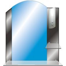 Зеркало с полкой в ванную T 43 c (73 см х 61 см)
