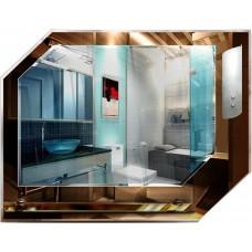 Зеркало с подсветкой в ванную T 07c (58 см х 75 см)