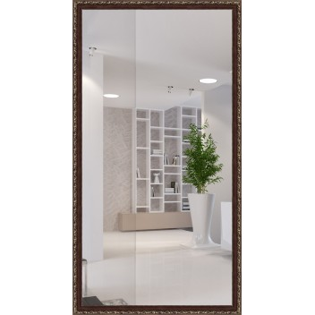 Зеркало в багете В 3418-06 (130 см х 70 см)