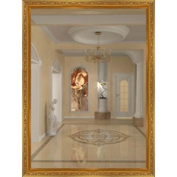 Зеркало в багете М 3418-47 (80 см х 60 см)