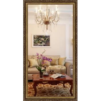 Зеркало в багете В 5836-03 (130 см х 70 см)
