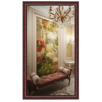 Зеркало в багете В 4218-08 (130 см х 70 см)