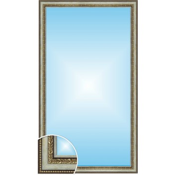 Зеркало в багете В 4218-01 (130см х 70см)