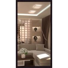 Зеркало в багете В 3415-40 (130 см х 70 см)