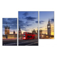 "Модульная картина ""London Life"""