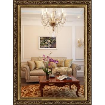 Зеркало в багете М 5836-03 (80 см х 60 см)
