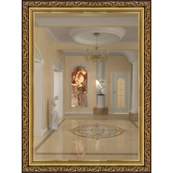 Зеркало в багете М 5836-05 (80 см х 60 см)