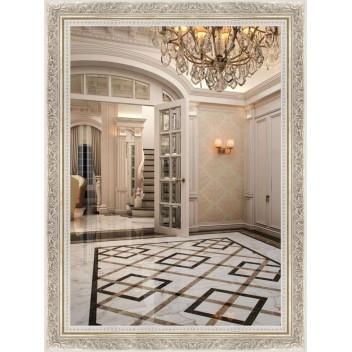 Зеркало в багете М 5836-34 (80 см х 60 см)