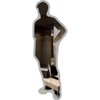 Фигурное зеркало MO 01с (160 см х 56,5 см)