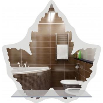 Зеркало в ванную MO 03 (79 см х 76 см)