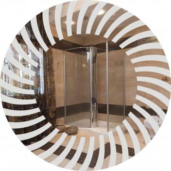 Зеркало в ванную  MO 33 (60 см х 60 см)