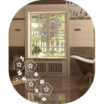 Зеркало с декором  MO 45 (60 см х 50 см)