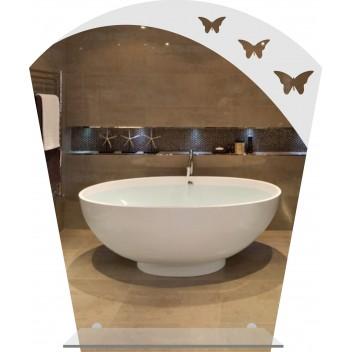Зеркало с элементом декора  MO 49 (60 см х 50 см)