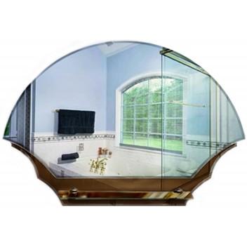 Зеркало в ванную с полкой T 04 (52 см х 76 см)