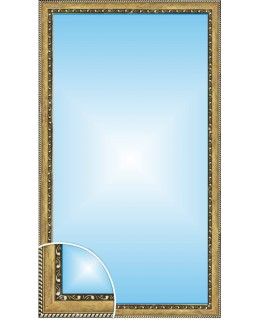 Зеркало в багете В 2915-03 (130см х 70см)