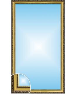 Зеркало в багете В 3422-05 (130см х 70см)