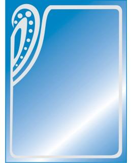 Зеркало прямоугольное для ванны MO 29 (80см х 60см)
