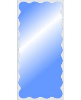 Большое зеркало в спальню MO 40 (130см х 60см)