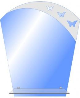 Зеркало с элементом декора  MO 49 (60см х 50см)