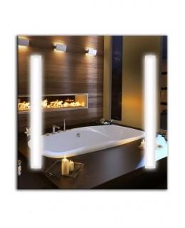 Зеркало с лампами дневного света ЛДС 001 (65см х 65см)